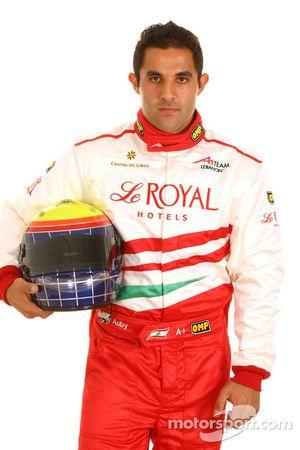 Jimmy Auby, driver of A1 Team Lebanon