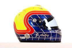 Jimmy Auby, driver of A1 Team Lebanon helmet