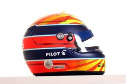 Nicolas Prost, driver of A1 Team France helmet