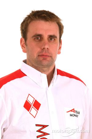 James Carter, A1 Team Monaco Engineer