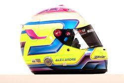 Alexandre Imperatori, driver of A1 Team Switzerland helmet