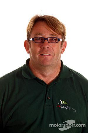 Les Jones, A1 Team Pakaistan Team Manager