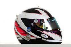 Dennis Retera, driver of A1 Team Netherlands helmet
