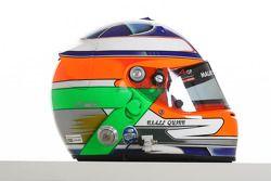 Niall Quinn, driver of A1 Team Ireland helmet