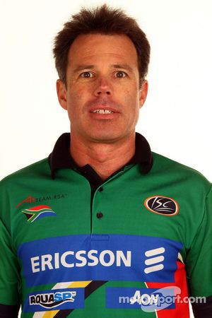 Mike Carroll, A1 Team South Africa Team Manager