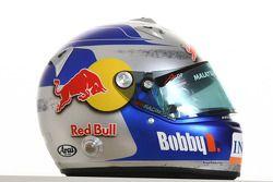 Robert Doornbos, driver of A1 Team Netherlands helmet