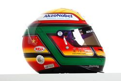 Ho Pin Tung, driver of A1 Team China helmet