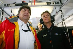Tony Teixeira, A1GP Chairman, Jan Lammers, Seat Holder A1 Team Netherlands