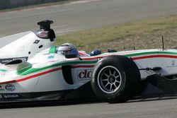 Christian Montanari, driver of A1 Team Italy
