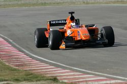 Dennis Retera, driver of A1 Team Netherlands