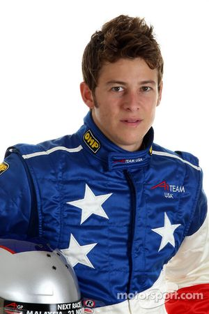 Marco Andretti, driver of A1 Team USA