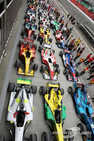 Cars in Parc Ferme