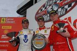 Friday race: Trofeo Pirelli podium