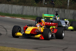 Ho Pin Tung, driver of A1 Team China, Felipe Guimaraes, driver of A1 Team Brazil