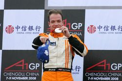 Podium: second place Robert Doornbos