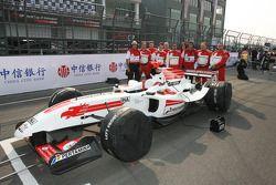 Satrio Hermanto, driver of A1 Team Indonesia team photo