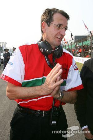 Piercarlo Ghinzani, titulaire du siège A1 Equipe d'Italie
