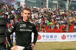 Chris Van Der Drift, driver of A1 Team New Zealand