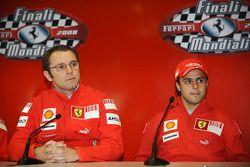 basın toplantısı: Stefano Domenicali ve Felipe Massa
