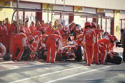 Pit stop for Felipe Massa
