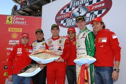 Sunday Coppa Shell race: Podyum