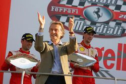 Sunday Trofeo Pirelli race: Luca di Montezemolo, Podyum