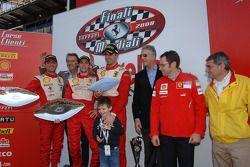 Sunday Trofeo Pirelli race: Podyum