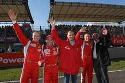 Gianmaria Bruni, Thomas Biagi, Amato Ferrari, Toni Vilander et Guiseppe Risi