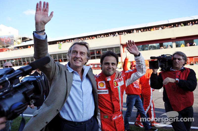 Luca di Montezemolo ve Felipe Massa