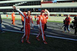 Felipe Massa ve Kimi Raikkonen