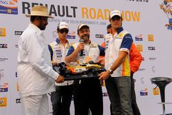 Nelson A. Piquet et Lucas Di Grassi sur le circuit