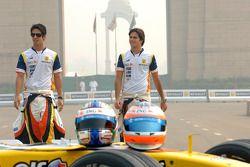 Nelson A. Piquet et Lucas Di Grassi