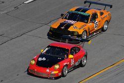 #86 Farnbacher Loles Racing Porsche GT3: Daniel Graeff, Seth Ingham, Eric Lux, Ron Yarab Jr., #15 Blackforest Motorsports Ford Mustang: Ian James, Tom Nastasi