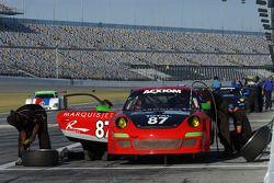 #87 Farnbacher Loles Racing Porsche GT3: Leh Keen, Eric Lux, Bryce Miller