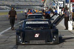 #5 Penske Racing Porsche Riley: Timo Bernhard, Romain Dumas