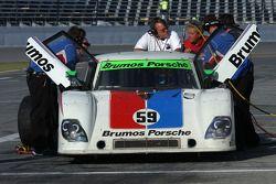 #59 Brumos Racing Porsche Riley: Joao Barbosa, Terry Borcheller, JC France, Antonio Perez Mendoza