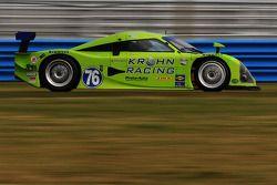 #76 Krohn Racing Pontiac Lola: Nic Jonsson, Darren Turner