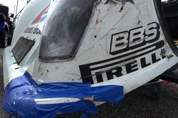 Rough day for Brumos Racing