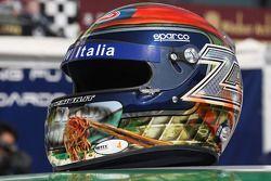 Casco speciale per la Cina di Alex Zanardi, BMW Team Italy-Spain, BMW 320si