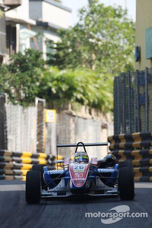 Masaki Matsushita, PTRS by Ombra, Dallara F308, Honda-Mugen NB