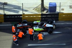 Crash of Sam Bird, Manor Motorsport