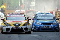 Robert Huff, Chevrolet, Chevrolet Lacetti, Jordi Gene, SEAT Sport, SEAT Leon TDI