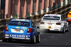 Alain Menu, Chevrolet, Chevrolet Lacetti, Andy Priaulx, BMW Team UK, BMW 320si WTCC