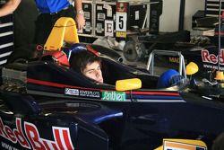 Jaime Alguersuari après son accident