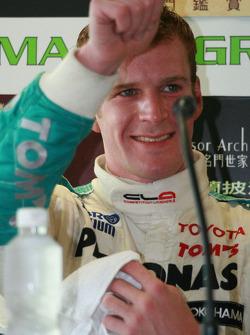 Conférence de presse post-qualifications: Carlo van Dam content de la pole position