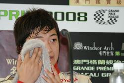 Conférence de presse post-qualifications: Keisuke Kunimoto se sèche