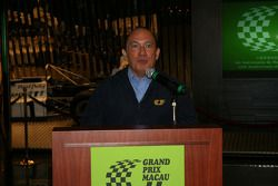 Macau Grand Prix Museum: l'ingénieur Costa Antunes au 15ème anniversaire du Macau Grand Prix Museum
