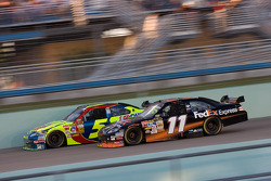 Casey Mears and Denny Hamlin