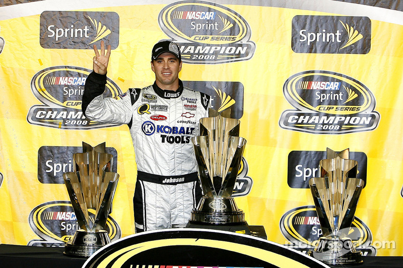 2008 - Champion over Carl Edwards by 69pts