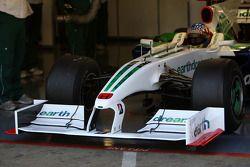 Alexander Wurz, pilote d'essai Honda Racing F1 Team
